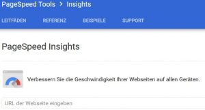 PageSpeed ​​Insights